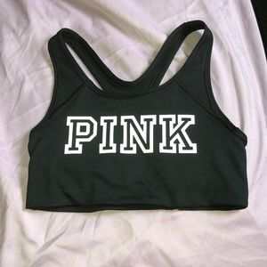 PINK unlined sports bra